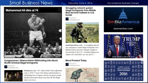 Small Business News 6.4.16