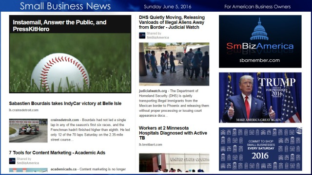 Small Business News 6.5.16