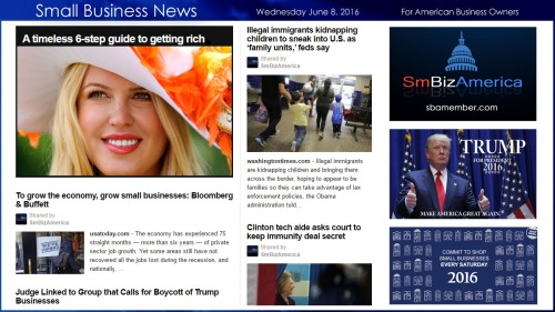 Small Business News 6.8.16