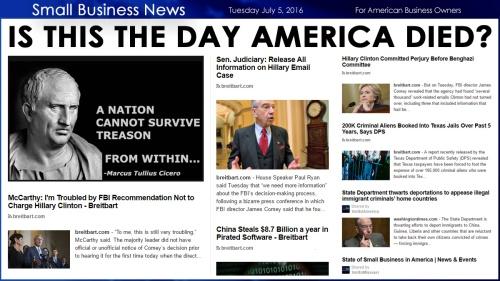 Small Business News 7.5.16 America