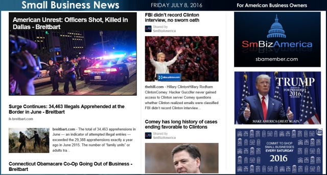 Small Business News 7.8.16