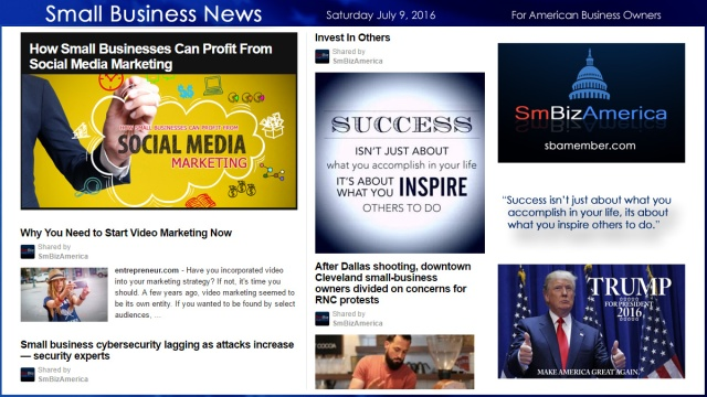 Small Business News 7.9.16