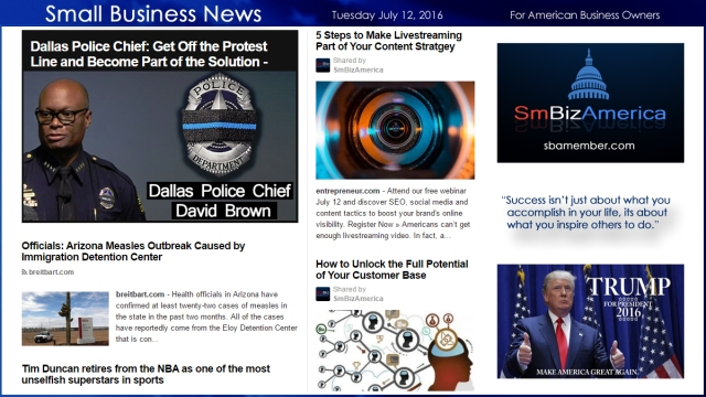 Small Business News 7,12.16