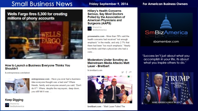 small-business-news-friday-september-9-2016