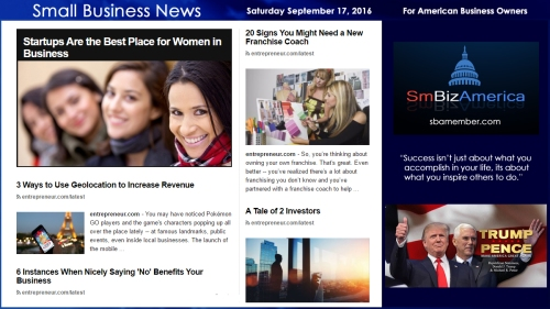 small-business-news-saturday-september-17-2016