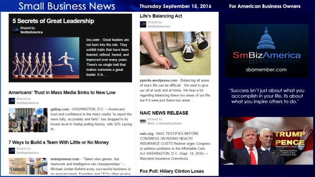 small-business-news-thursday-september-15-2016