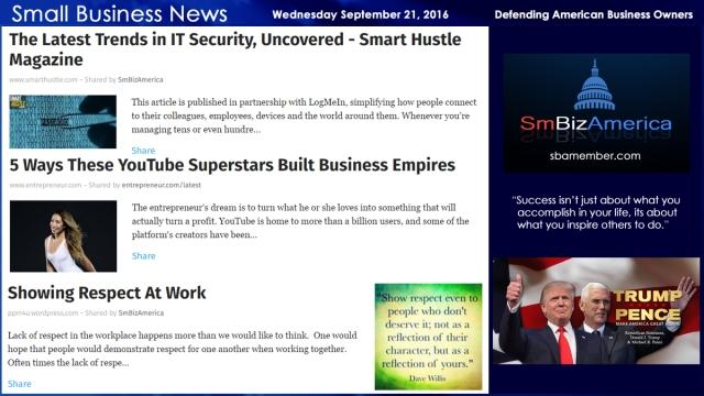 small-business-news-wednesday-september-21-2016