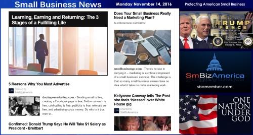 small-business-news-monday-11-14-16-smallbusiness-smallbusiness-news