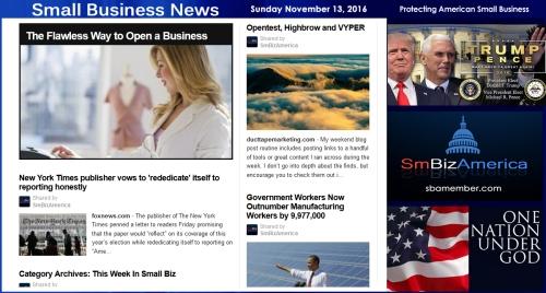 small-business-news-sunday-11-13-16-smallbusiness-smallbusiness-news