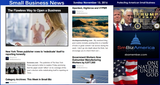 small-business-news-sunday-11-13-16-smallbusiness-smallbusiness-news