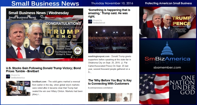 small-business-news-thursday-11-10-16