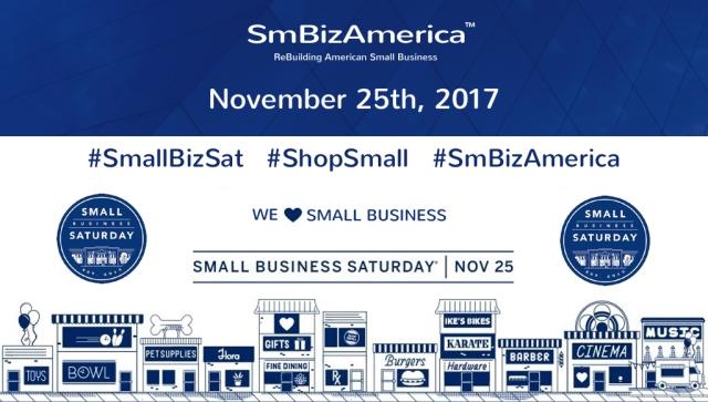 #SmallBizSat #ShopSmall #SmBizAmerica