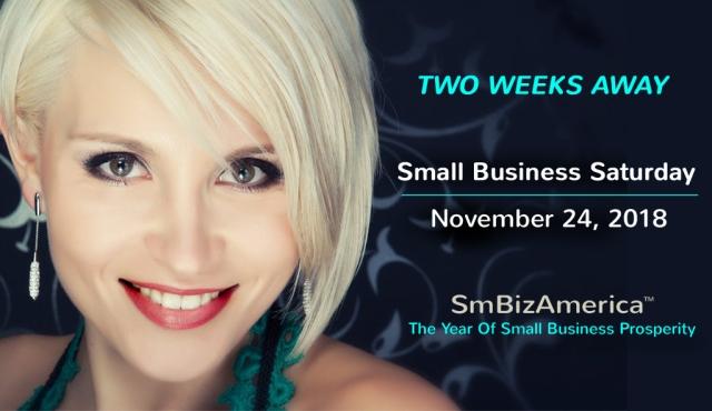 Small Business Saturday 2018 SHOPSMALL November 24, 2018