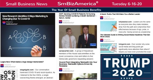#SmallBusinessNews
